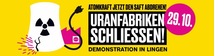 Demoaufruf Banner